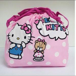 HELLO KITTY-NWT Drawstring Bag